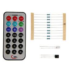 New IR Remote Control 0038B DIY kit Transmitter Infrared Receiver 10K Resistor