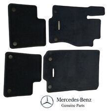 For Mercedes Benz ML W166 GL X166 2012-Up 4 Pcs Black Carpeted Floor Mats OES