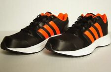New Mens Adidas Neo VS Star Running/Athletic Shoes Sz 9 AW5261 Black/Solar Red