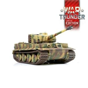 1:24 German Tiger I Late Version RC Tank 2.4GHz Infrared RTR War Thunder Edition