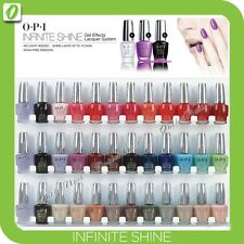 O.P.I Infinite Shine by OPI 36 pc White Metal Wall Display Complete 36ct Kit SET