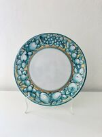 Beautiful Vintage Ceramic Italy Plate Fruit Hand Painted 11 inch Serving Platter