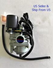 2 stroke Carburator Fits Chinese Sundiro Sunray 50cc Quad  Free Gas Filter