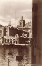 More details for malta - vittoriosa vintage real photo postcard by george furst c1940s.
