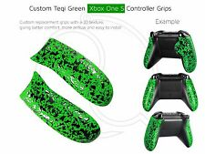 Xbox S Verde Hulk Personalizado controlador One 3D Pro Reemplazo Grip/S Asas Traseras