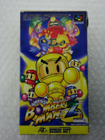 "Super Bomberman 2 ""Good Condition"" Nintendo Super Famicom SFC Japan"