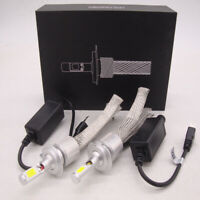 FANLESS H1 H4 H7 H11 H13 9005 LED headlight Kit 200W 20000LM Car Light Lamp bulb