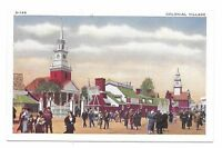 1933 Chicago World's Fair PC #X-146 Colonial Village