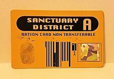 Star Trek DS9 Sanctuary Ration Card prop