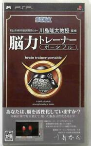 PSP Nouryoku Trainer Portable 4974365900045 From Japan