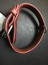 Petmate dog collar leather - Pink