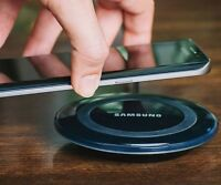 Samsung Wireless Qi Fast Charger Station PAD For Galaxy S6 S7+ Plus Edge