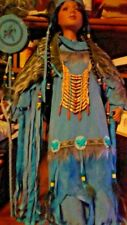 "28"" Kinnex Native American Doll with tags no box with stand."
