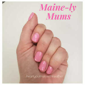 9L3GoColorStreet MAINLY MUMS Nail Strips NEW RETIRED Main-ly Mums **+TWOSIE**