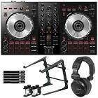 Pioneer DJ DDJ-SB3 2-Channel DJ Controller w Laptop Stand & Headphones