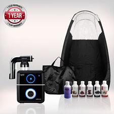 Tanning Essentials Rapide Complet Spray Tan Kit 'Noir' + Tente + suntana Fauve