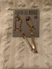 $32 Rober Lee Morris Geometric Linear Drop Earrings Y9