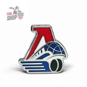 Lokomotiv Yaroslavl pin badge brooch. KHL team. Russian Ice Hockey club. HC Loko