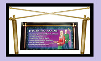 NEW DIVINING RODS Boxed with instructions superb Divination Dowsing Tracked Del