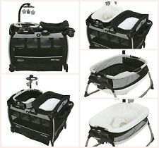 Graco Pack N Play Portable Infant Baby Crib Bassinet Napper Folding And Changer