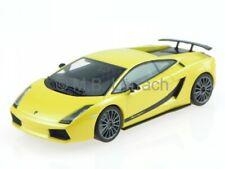 Lamborghini Gallardo Superleggera yellow model car 54614 AutoArt 1/43