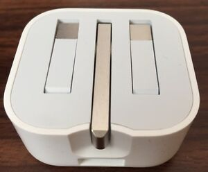 GENUINE APPLE 5W USB UK Power Adapter (Folding Pins) Iphone Apple Watch iPad Pro