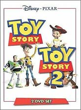 Toy Story/Toy Story 2 (DVD, 2000, 2-Disc Set) Disney Pixar Free Shipping!!