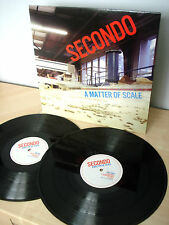 Secondo A Matter Of Scale UK 2 x LP Soul Jazz SJR LP188 2008 NM/NM