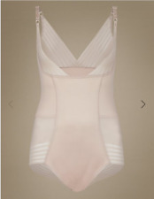 Famous Make Firm Control No VPL Wear Your Own Bra Body. Almond or Black. 8-20.