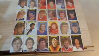"1981 O-Pee-Chee ( OPC ) Super Hockey 5 x 7"" Card Set of 24 - NHL Hockey"