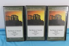 Great Courses History of Ancient Egypt Part 2 3 4 Book & 6 DVD Set