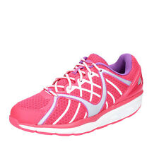 scarpe donna MBT 36 EU sneakers rosa tessuto dynamic BX895-36