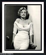 Marilyn Monroe White Dress by Halsman Framed Poster Print