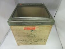 VINTAGE STORE  ADVERTISING NABISCO CRACKER COUNTER BIN DISPLAY RARE  M-661