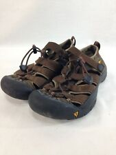 Keen Newport Sport Sandals Shoes Womens 6 Brown Hiking Trail Comfort Drawstring