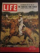 Life Magazine Fabulous King Ranch Roundup July 1957