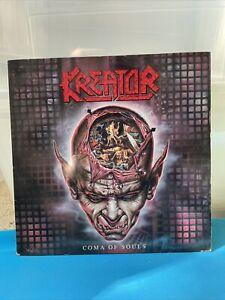 Kreator LP - Coma Of Souls / 1990 GERMAN Noise