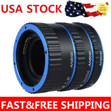 Pro Metal TTL Auto Focus AF Macro Extension Tube Ring For Canon EOS EF EF-S Lens