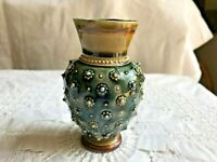 Doulton Lambeth small vase Harriet Hibbert 1883