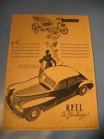 Opel Kapitän Werbung 1950.Jahre -Oldimer advertising