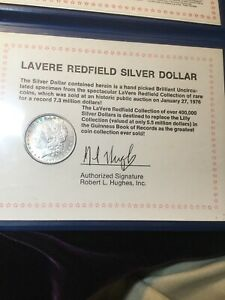Redfield Silver Dollar For Your Collection A Part Of Silver Dollar History!