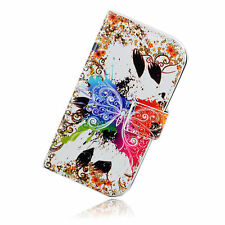Card Slot Leather Soft Silicone Full Flip Cover Case Holster For Motorola Moto G
