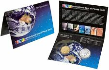 2008 Australian Two Coin UNC Set $1 20c International Year of Planet Earth