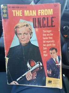 The Man From U.N.C.L.E. #11 1967 1.8 GD-