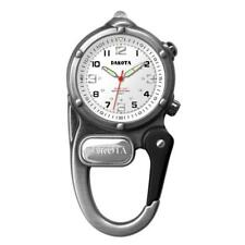 Mini Clip Microlight Up Nurse Watch Silver Carabiner Clip Dakota 38426