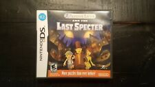 Professor Layton and the Last Specter (Nintendo DS, 2011) Complete in Box
