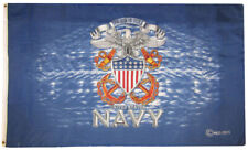 3x5 United States Navy The Sea Is Ours 100D 5x3ft Flag Grommets Super Polyester