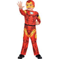 Superhéroe Squad Iron Man Muscle Traje Niño Marvel Talla 3t-4t - Nuevo Pc279