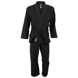 Playwell Perle Gewebe Bjj Gi Schwarz Uniform Kampfsport Ju Jitsu Anzug Jiu