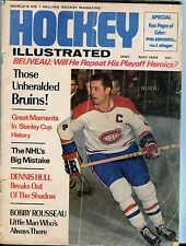 Hockey Illustrated Magazine May 1969 Jean Beliveau GD No ML 050417nonjhe